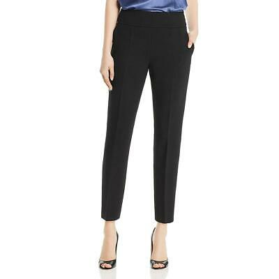 BOSS Hugo Boss Womens Tarera  Black Wool Blend Dress Pants Trousers 0 BHFO 9542
