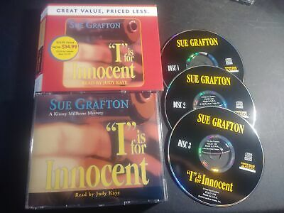 I Is For Innocent (Sue Grafton)