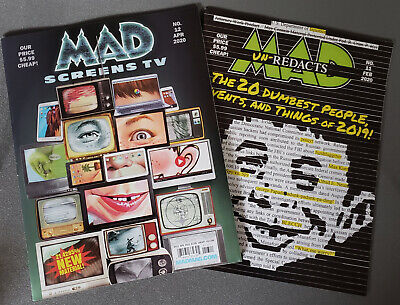 Mad Magazine Set Of 2 Issues #11 February 2020 & #12 April 2020
