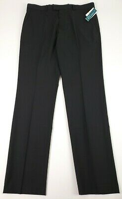 Perry Ellis Portfolio Mens Very Slim Fit Flat Front Stretch Dress Pant 33X32 NWT