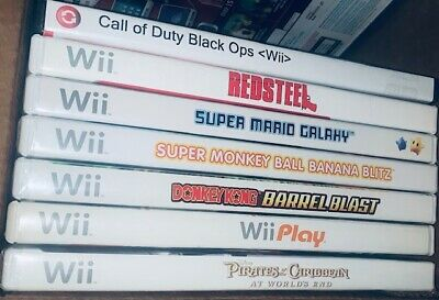 Nintendo Wii Games - PICK AND CHOOSE (Acceptable)