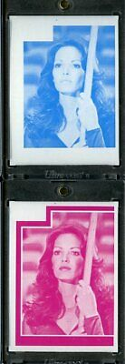 1977 Topps Charlies Angels Color Separation Proof Cards. #224