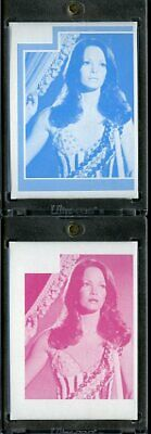 1977 Topps Charlies Angels Color Separation Proof Cards. #218