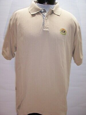 BURBERRYS Mens XL X-Large Polo shirt Combine ship Discount