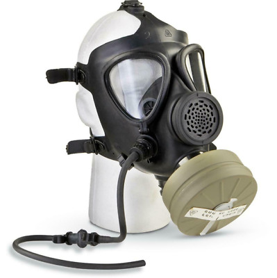 M15 Gas Mask with Filter Israeli Military Surplus Army Issue w/ Drinking System