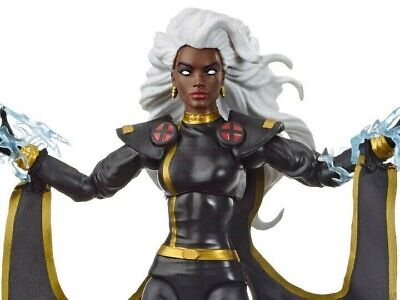 NEW X-Men Retro Marvel Legends 6-Inch Black Outfit Storm Action Fig Hasbro