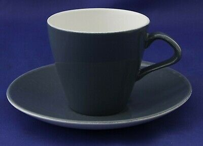 - Poole Pottery Blue Moon Large Cup & Saucer