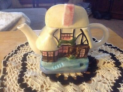 Chinese Porcelain Cottage Teapot