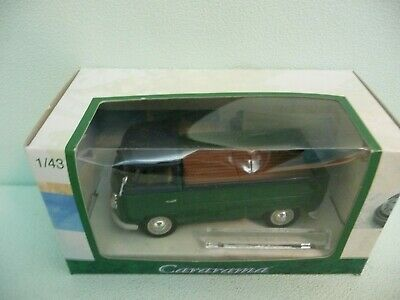 1:43 scale by Cararama 251PND6R VW T1 Open Pickup in Maroon
