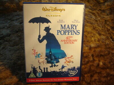 Mary Poppins: 40Th Anniversary Edition. Dvd