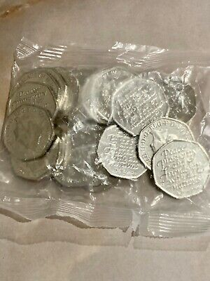 2020 50p Brexit Coin Full Bag (of 20) Coins