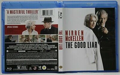The Good Liar (Blu-Ray, 2019) FREE Ship Helen Mirren, Ian McKellen, NO Digital