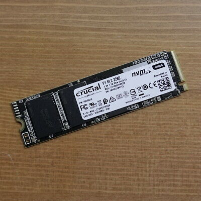 1TB Crucial P1 NVMe PCIe M.2 SSD Solid State Drive CT1000P1SSD8 1000GB