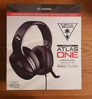 Turtle Beach Atlas One Gaming Headset - PC, PS4, Xbox One and Nintendo Switch