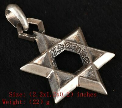 925 Silver Solid Silver Real Silver Ring Star Handmade Collec Gift