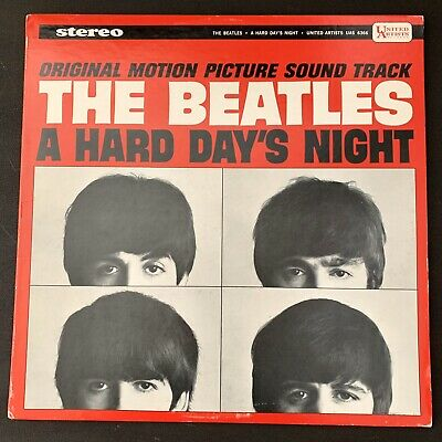 BEATLES A HARD DAYS NIGHT STEREO I CRY INSTEAD Very Clean