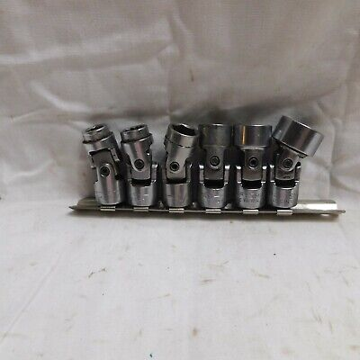 "Craftsman 3/8"" Drive Swivel Sockets 3/8"", 7/16"", 1/2"", 9/16"", 5/8"" & 3/4"" USA"