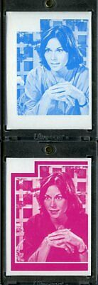 1977 Topps Charlies Angels Color Separation Proof Cards. #196