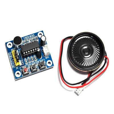 Voice Recording Playback Module Sound Recorder Board With Loudspeaker ISD1820
