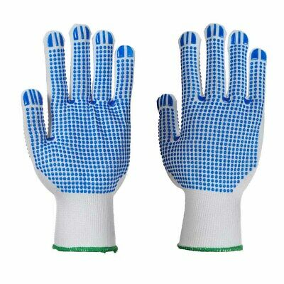 Portwest - Polka Dot Double Sided Gripper Glove (12 Pair Pack)