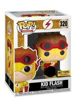 Funko Pop DC KID FLASH HOT TOPIC Exclusive Preorder with FREE PROTECTOR