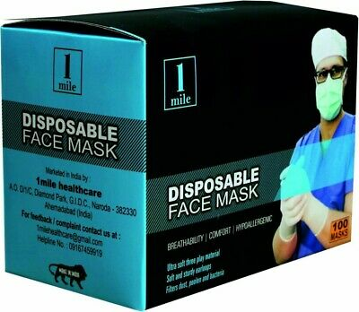Disposable Face Masks Medical 40000 Wholesale Surgical Dental Quality 3 ply