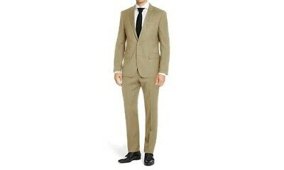 NEW Mdrn Uomo By Braveman Men's Classic Fit 2Pc Suits - Tan - Size: 42X40W