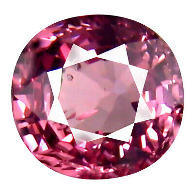 0.86 CT AAA + Mind-Boggling Coussin Forme (6 X 6 mm) Rose Malaya Gemme Grenat