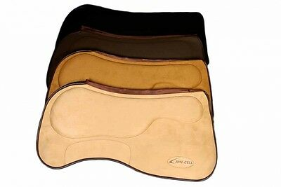 Lamicell Close Contact Trainerpad braun Westernpad Funktionspad