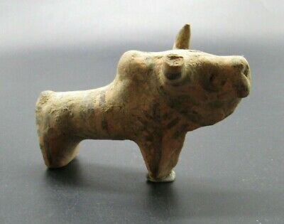 Genuine ancient Bronze Age Bull figurine 4000 years old