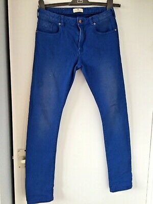 SCOTCH & SODA blue distressed skinny jeans age 14:yrs