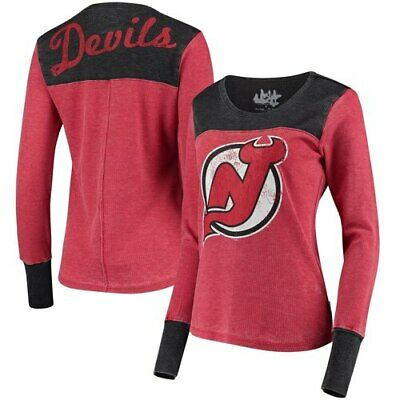New Jersey Devils Touch by Alyssa Milano Women's Blindside Thermal Long Sleeve