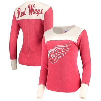 Detroit Red Wings Touch by Alyssa Milano Women's Blindside Thermal Long Sleeve