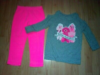 Justice & Total Girl 2 Piece Girls Outfit Size 10-12