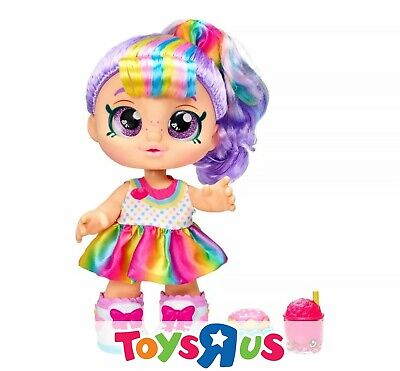 Kindi Kids Toddler Doll - Snack Time Friends Rainbow Kate