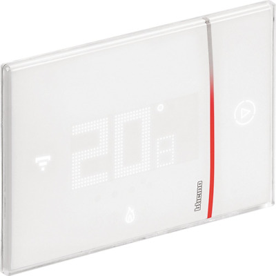 BTicino smarther SX8000 Connected Thermostat with Built-In WiFi, White, Professi