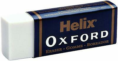 Helix Oxford Eraser Rubber Great Quality Latex Free - School Art - LARGE SIZE