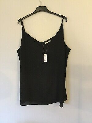 BNWT Ladies George Strappy Cami Top Size 22