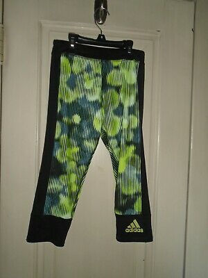 Adidas Girls Active Wear Leggings Size Medium (10-12)