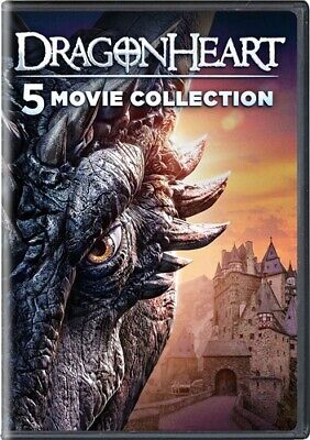 DRAGONHEART 5 MOVIE COLLECTION New 5 DVD Sorceror's Curse Heartfire Vengeance