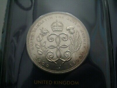 1980 Royal Mint £5 Coin Queen Mothers 90th Birthday