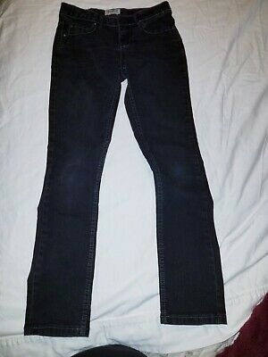 Girls Size 12 Adjustable Skinny black Jean Pants  MUDD