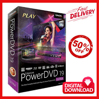 CyberLink PowerDVD Ultra 19 | Multilingual ✔ Lifetime Activated 🔥Full Version🔥
