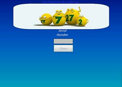 KLODS TATTSLOTTO lotto POWER SYSTEM software