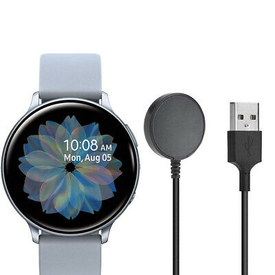 Samsung Galaxy Watch Active 2 44mm SM-R820 SILIVER GPS AND SPORT BAND A Grade