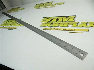 "Nice Starrett Precision 48"" Rule Tempered No. C604R"