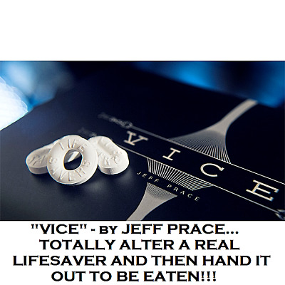 VICE - A LIFESAVER SQUEEZING & ALTERING MAGIC TRICK by JEFF PRACE EASY-TO-DO FUN