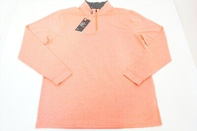 New  Under Armour Golf Loose Pullover Mens Size  Large Pink 391B 00821686