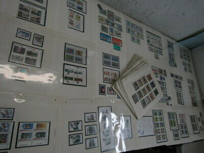 Nystamps Canada many mint NH stamp & block collection high face value