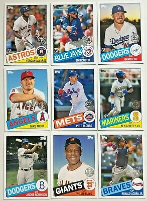 2020 Topps Series 1 1985 TOPPS - PICK FROM LOT *COMPLETE YOUR SET*